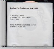 (DZ96) Bodixa Pre Production Nov 2001 - 2001 DJ CD