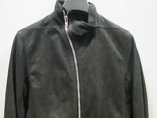 jacket leather MOLLINO RICK OWENS RU15F7762/LK sz.48 price 1922euro paul harnden