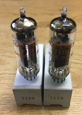 7119 Amperex Matched Pair Vacuum Tube NOS NIB Tested Strong (More Available)