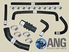 TRIUMPH SPITFIRE MkIV, 1500 '73-'80 RADIATOR WATER COOLING HOSE KIT & CLIPS