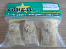 CROMWELL MODELS 1/76 TH SCALE BRITISH VICKERS MK VIB LIGHT TANK (3 pack)