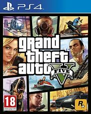 Grand Theft Auto V-- GTA 5 (Sony PlayStation PS4 Video Games)