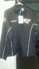 Hockey Towson University Bauer Roller Hockey jacket L black full zip..nwt