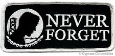 POW-MIA EMBROIDERED PATCH new MILITARY Never Forget IRON-ON vietnam war APPLIQUE