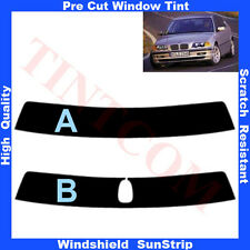 Pre Cut Sunstrip for BMW 3 Series E46 Saloon 4 Doors 1998-2005 Any Shade