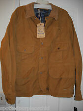 New $395 Mens Polo Ralph Lauren Twill Safari Hunting Utility Jacket Coat~L~SALE!