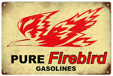 Pure Firebird Gasoline Motor Oil  Sign