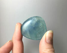 Blue Fluorite Crystal worry stone
