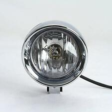 "4""Chrome Spot light  For Honda Kawasaki Yamaha Harley Chopper Bobber Custom"