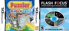 Puzzler del Mundo de 2011 y Flash Focus/vista Entrenamiento Nuevo y Sellado