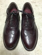 NIB! Men's ROCKPORT Cordovan Wingtip Dress Oxford Shoes Size 8 Wide
