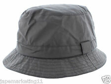 Mens 100% Wax Cotton Bucket Rain / Fishermans Hat - Made in England