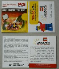 Malaysia 2016 Legoland Theme Stamp Booklet Mint MNH (8pcs 60 sen stamp)