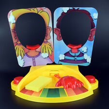 HOT 2 Player Pie Face Board Game Family Adult Kids Children Funny Rocket Games