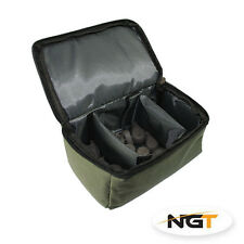 NUOVO NGT Carp Fishing Tackle PIOMBO Accessorio Bag 3 VIE Lead/AVVISATORI NGT