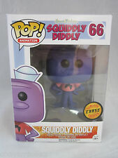 Funko POP Hanna Barbera Squiddly Diddly Chase LE RARE + Protective Sleeve