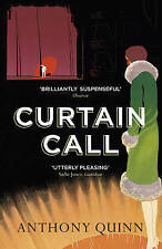 QUINN,ANTHONY-CURTAIN CALL  BOOK NEW