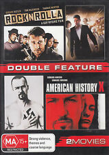 DOUBLE FEATURE Rock N Rolla / American History X DVD R4 NEW - PAL