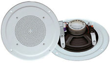 New Pyle PDICS54 5'' Full Range In Ceiling Speaker System W/Transformer