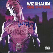WIZ KHALIFA Signed Autographed DEAL OR NO DEAL CD Cover SNOOP DOGG w/COA RARE