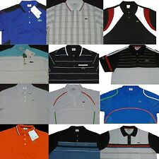2 pcs Lacoste Sports Mens Men's Polo Shirt Any Size 4 5 6 7 8 9 S M L XL XXL