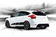 Ford Focus Side Stripe Decal 2016 3M Vinyl Sticker Sport Racing