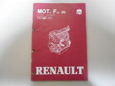Original Werkstatthandbuch Motor Renault 5 - 9 - 11 - 19 - Rapid (Ausgabe 1983)