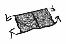 STR Rally Car Helmet Hammock Net Storage for 2 helmets Heavy Duty BLACK