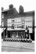 pu0029 -  Queens Arms Pub , St Sepulchre Gate , Doncaster , Yks - photograph