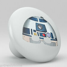 Star wars R2-d2 Collection Ceramic Knobs Pull Kitchen Drawer Dresser Cabinet 973