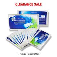 28 Strips Original Advanced Teeth Whitening Whitestrips Enamel Safe 14 Pouches