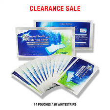 28 Strips Original Advanced Teeth Whitening Whitestrips Enamel Safe 14 Pouches