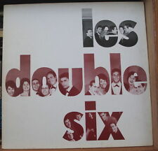 LES DOUBLE SIX FRENCH LP  RE-ISSUE OPEN RECORDS