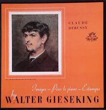 ANGEL RECORDS 35065 GIESEKING PLAYS DEBUSSY IMAGES 1&2, ESTAMPES... US PRESS NM