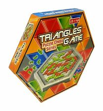 Party Family Board Game TRIANGLES GAME Puzzle Chess Blokus Fun (For 2 Players)