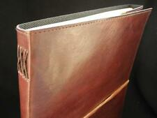 A4 Handmade Leather Sketchbook Journal - Cartridge Paper - Portrait Format