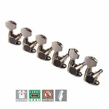 NEW Gotoh SG360-07 L6 MG MAGNUM LOCKING Set 6 in line Right Handed - COSMO BLACK