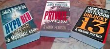 James Patterson Series Collection( 3)  Set Private London, Unlucky 13, NYPD Red