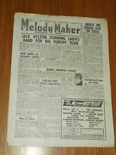 MELODY MAKER 1946 #691 OCT 19 JAZZ SWING JACK HYLTON HARRY CHAPMAN AMBROSE