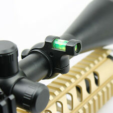 Hunting Alloy Bubble Spirit Level for Optics Rifle Scope Laser with 30mm Tubes