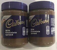 904227 2 x 400g JARS OF CADBURY MILK CHOCOLATE SPREAD - DELICIOUS ON WARM TOAST!