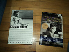 2 Books Symptoms Withdrawal Christopher Kennedy Lawford American Adulterer JFK