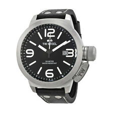 TW Steel Canteen Black Dial Stainless Steel Mens Watch TW22