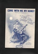 Come With Me My Honey (The Song of Calypso Joe) 1944 Meet Miss Bobby Socks