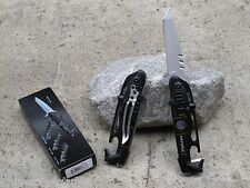 Black Hawk Helicopter Air Force Tactical Rescue Spring Assisted Pocket Knife