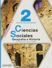 Ciencias Sociales 2, M.Burgos, Madrid, Anaya, 2do eso