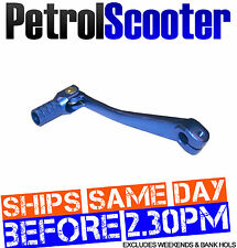 Pit Bike Snap Back Foot Gear Lever Folding Blue 50cc 110cc 125cc 140cc Monkey