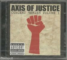 AXIS OF JUSTICE - SERJ TANKIAN CD + DVD 2004 SEALED