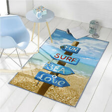 SURF, MARE, Divertimento BEACH SIGN TAPPETO 100 x 160 cm