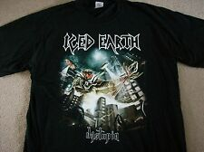 ICED EARTH - DYSTOPIA T SHIRT (X LARGE)